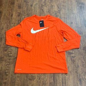 Nike Men's Long Sleeve Shirt Size L